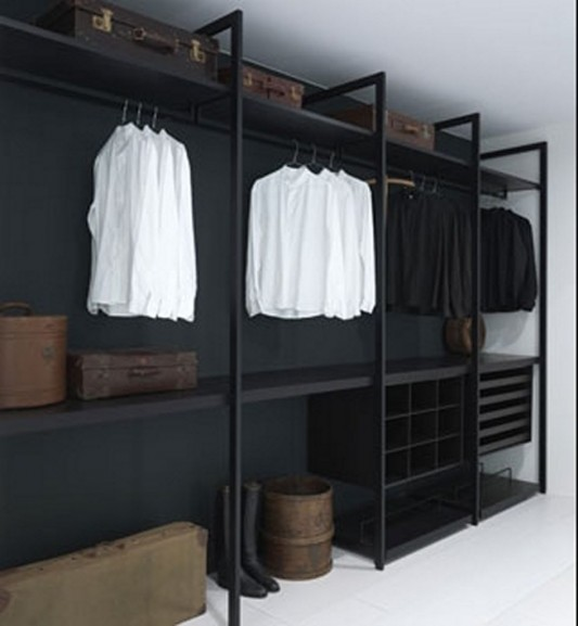 modern minimalist walk-in cabinet design ideas