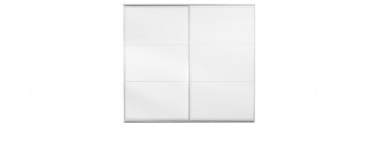 modern minimalist white lacquered or glass sliding door wardrobes