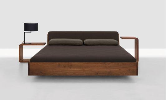 modern minimalist wooden beds ideas