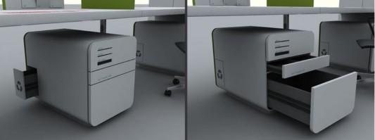 Futuristic Concept Office Desk Office Furniture Design By