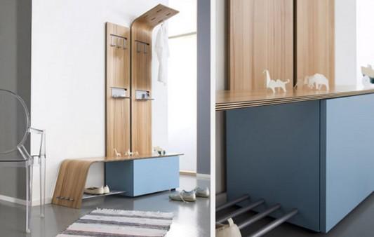 modern practical corridor furniture design ideas