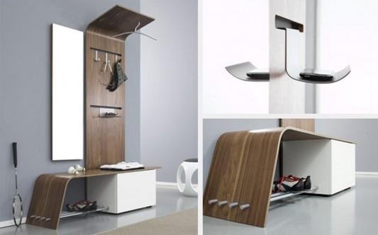 modern practical foyer furniture design
