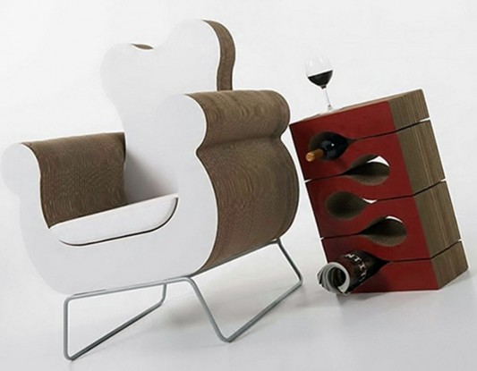 design modern cardboard furniture o gehry modern recycling cardboard furniture by kube ecosustainable design for modernstyle interior