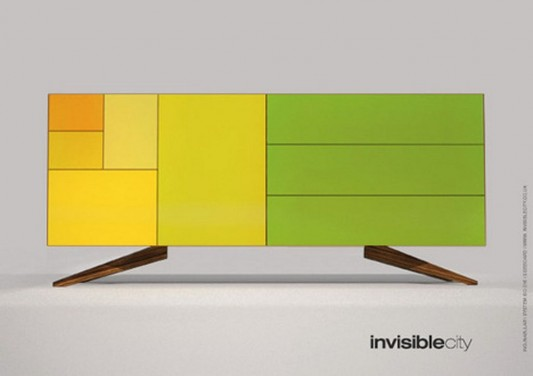 modern sideboard with international standard paper size Simon Moorhouse