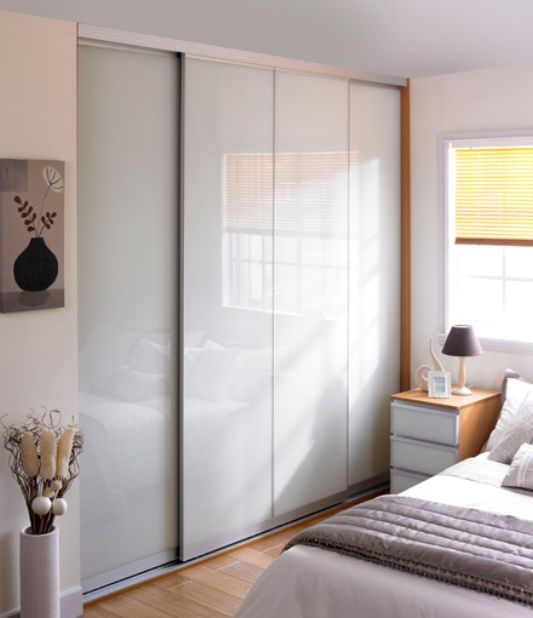 modern system of sliding door wardrobe, Minima by Spaceslide
