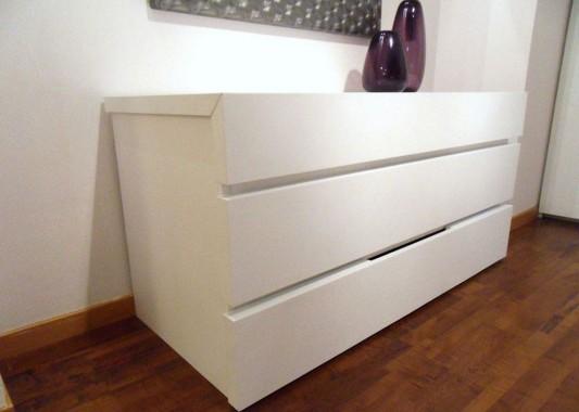 modern white bedroom cabinet design