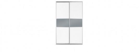 modern white glass sliding door wardrobes
