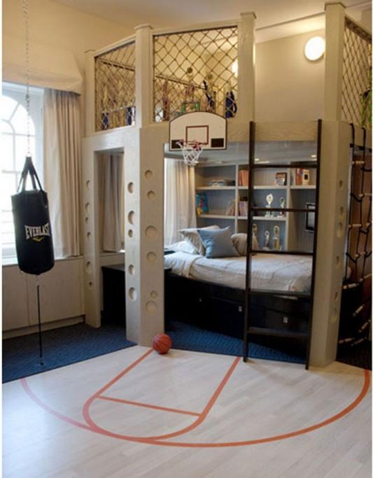 modern young boys bedroom design ideas