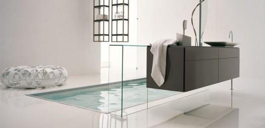 modern minimalist and timeless bathroom suites design