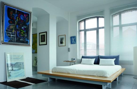 natural classic on loft bedroom