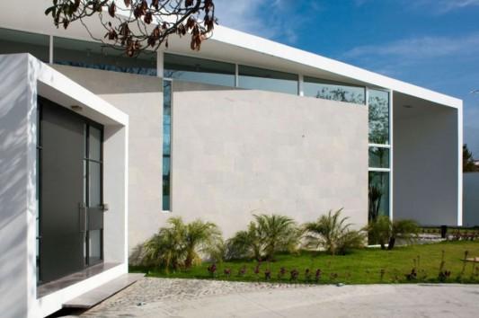 neo modern house design glass door ideas