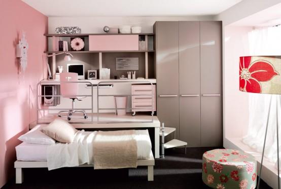 nice pink teenage bedroom ideas