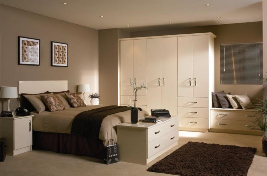 nuvo white high gloss slab wardrobes modern minimalist design