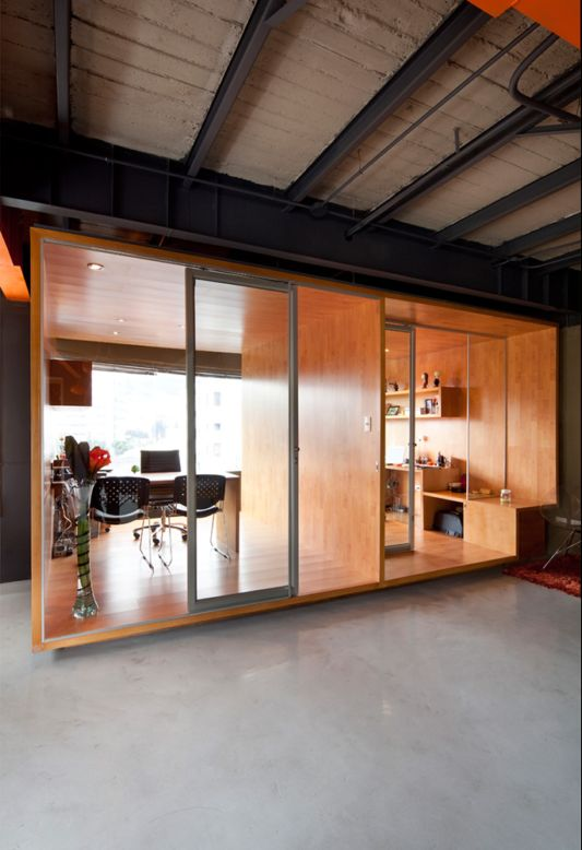 offices decorating ideas wooden partition room design ideas