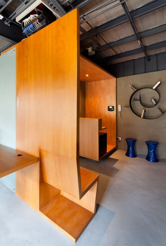 Ideas Interior Office Partitions with Wood by Arquitectura x