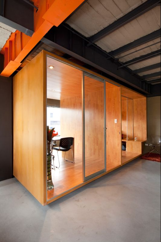 offices decorating ideas wooden partition room
