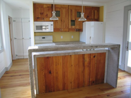 old farmhouse renovation design ideas traditional concrete kitchen counter