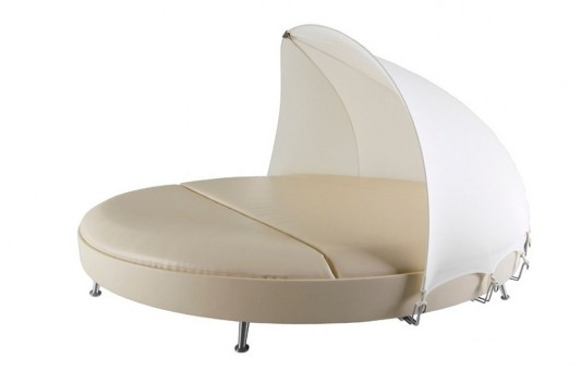 outdoor daybed suitable for contemporary commercial space Usona