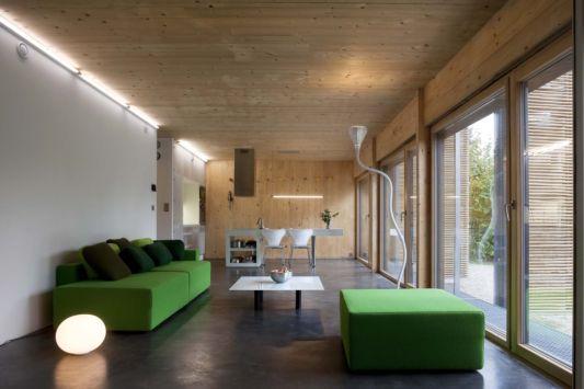 passive house living room design