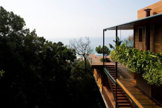 peacefull beach house design ideas