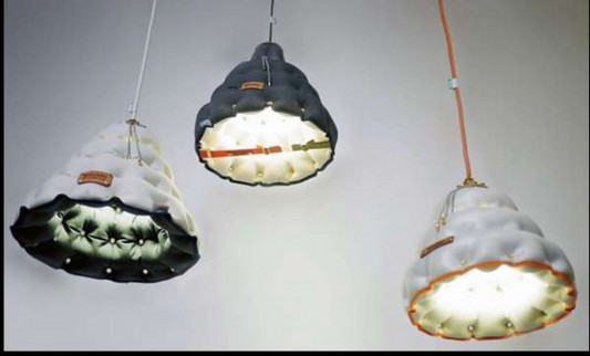 pendant functional can be folded flat packed