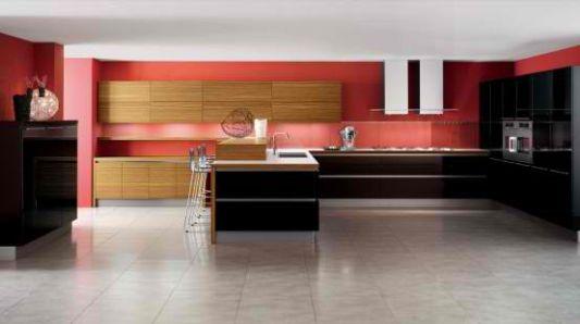Wooden Elements For High-Tech Kitchen Decor, Oyster by Veneta Cucine ...