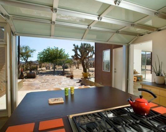 ranch house modern style kitchen design
