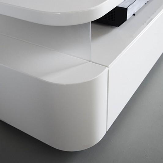 RKNL audio minimalist audio furniture with drawer