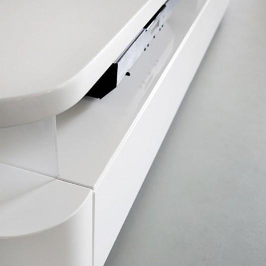 RKNL audio minimalist design audio furniture detail