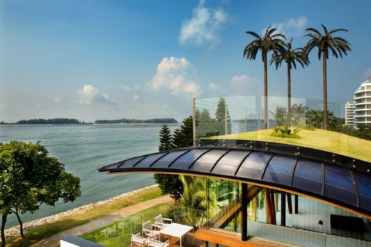 Fish houses open house design for tropical climate Fish house singapore