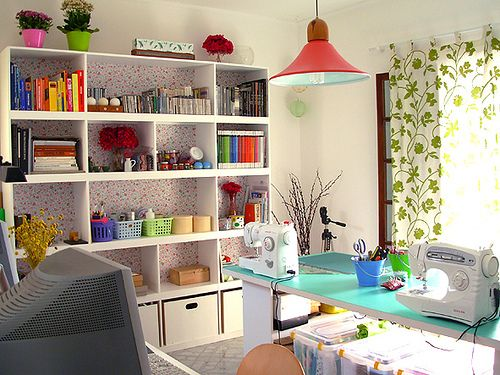 sewing rooms studio ideas