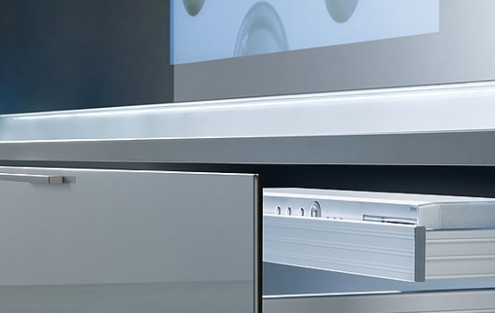 shelves for your CD DVD deck as decoration