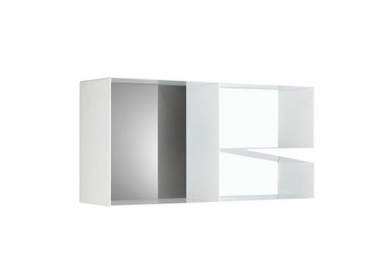 silver aluminum cabinet modern and stylish design