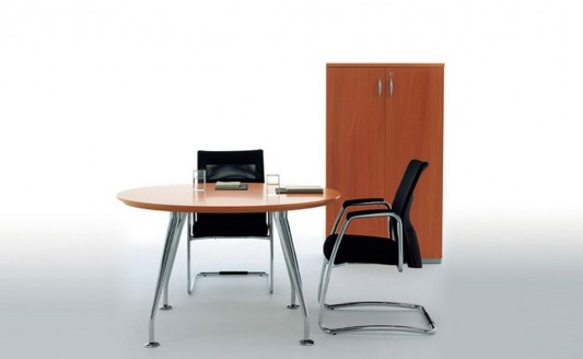 simple and elegant executive office furniture design by manerba