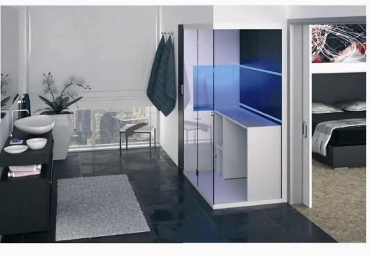 simple minimalist versatile revolution shower box