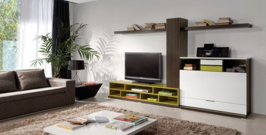 simplicity LCD TV Cabinet design for minimalist living room decoration