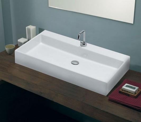 simplicity box washbasin elegant design