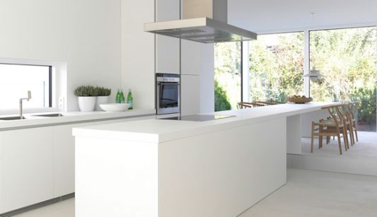 Minimalist white kitchen ideas simplicity by bulthaup home design