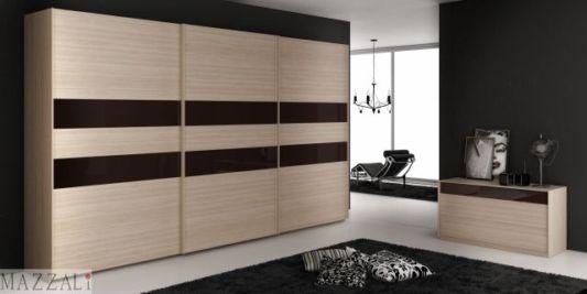 Minimalist Bedroom Decoration With Sliding Doors Slim