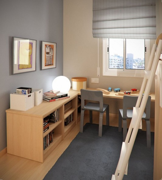 small kids study room design inspiration