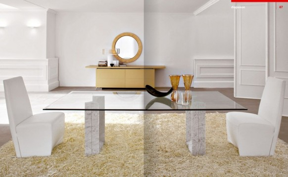 Nice Smooth But Low Lying Marble Base Coffee Table