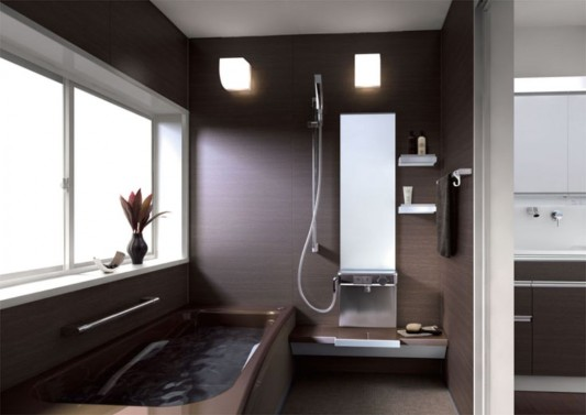 soft and comfortable small bathroom ideas