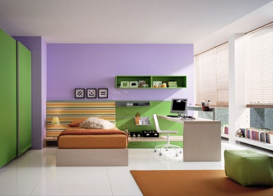 soft colorful comfortable kids bedroom decorating ideas