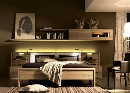 Simple Solid Wood Bedroom Furniture Set By Huelsta Home Design - Minimalist-bedroom-interior-inspiration-from-huelsta