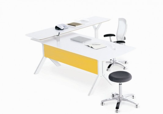 stand alone modular office desk design by formway