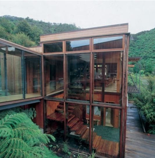 Waterfall Bay House Beautiful House In Remote Bay By Bossley Architects