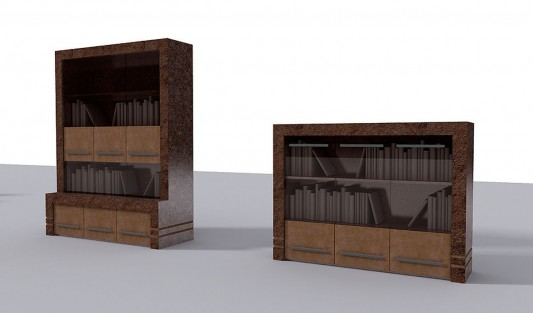 stone office furniture conceptual design