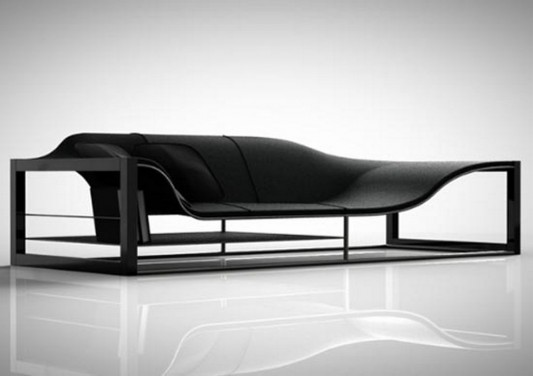 Stylish And Minimalist Sofa Seating System