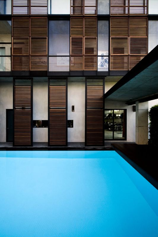 swimmingpool design the apartment house
