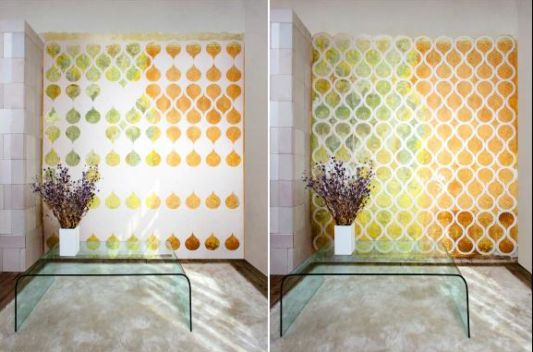 Wall Decoration with Interactive Wallpaper, Tears Off by Znak - Home ...